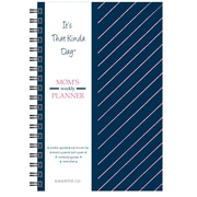 "Kahootie Co™ It's That Kinda Day™-  Mom's Weekly Planner, 6"" x 9"",Navy Stripe(ITKMNS)"