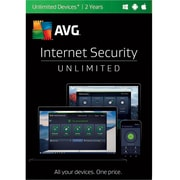 AVG Internet Security 2017, Unlimited 2 Years for Windows (1-1000 Users) [Download]