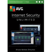 AVG Internet Security 2017, Unlimited 1 Year for Windows (1-1000 Users) [Download]