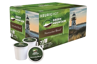 Green Mountain Coffee Nantucket Blend Keurig K-Cup pods 72 ct 2488663