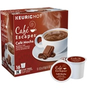 Cafe Escapes® Cafe Mocha Keurig® K-Cup® Pods, 16 Count