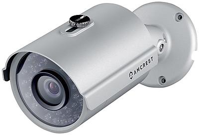 Amcrest HDSeries Outdoor 1.3 Megapixel 960P POE Bullet IP Security Camera IP67 Weatherproof 1.3MP 960P 1280 TVL Silver