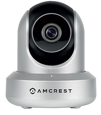 Amcrest HDSeries 720P POE Power Over Ethernet IP Security Surveillance Camera System Silver