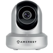 Amcrest HDSeries 720P POE (Power Over Ethernet) IP Security Surveillance Camera System, Silver