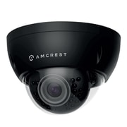 Amcrest ProHD Outdoor 3 Megapixel POE Vandal Dome IP Security Camera - 3MP (2048 TVL), Black