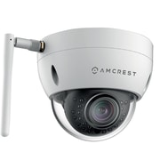 Amcrest ProHD Outdoor 1.3 Megapixel Wi-Fi Vandal Dome IP Security Camera -1.3MP (1280x960 TVL), White