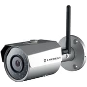 Amcrest ProHD Outdoor 3-Megapixel (2304 x 1296P) WiFi Wireless IP Security Bullet Camera - 3MP (1080P/1296P), Silver