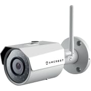Amcrest HDSeries Outdoor 1.3-Megapixel (1280 x 960P) WiFi Wireless IP Security Bullet Camera - 1.3MP (1280TVL), White