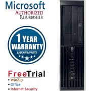 Refurbished HP Compaq Pro 6305 Tower AMD A4 3.4Ghz  8GB RAM 2TB Hard Drive Windows 10 Pro