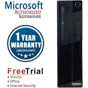 Refurbished Lenovo ThinkCentre M72E SFF Intel Core i3  3.3Ghz  8GB RAM  2TB Hard Drive Windows 10 Pro