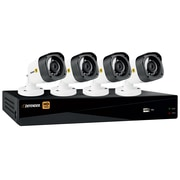 Defender HD 1080p 8 Channel 1TB DVR Security System and 4 Bullet Cameras with Web and Mobile Viewing