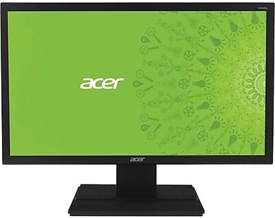 "Acer - 21.5"" LED HD Monitor - Black V226HQLBBD"
