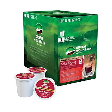 Keurig® K-Cup® Green Mountain® Fair Trade Spicy Eggnog Coffee, Regular, 24 Pack