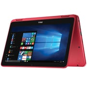 "Dell Inspiron i3179-0000RED 2-in-1 Laptop [11.6"", 7th Generation Intel Core m3-7Y30, 4GB RAM, 500GB HDD]"