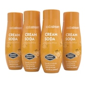 Sodastream 440ml Cream Soda Sparkling Drink Mix, 4 Pack