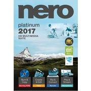 Nero 2017 Platinum for Windows (1 User) [Download]