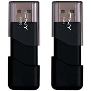 PNY Attache 64GB USB 2.0 Flash Drive 2-pack