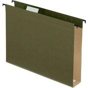 Pendaflex® SureHook® 1/5 Cut Tab Extra Capacity Reinforced Hanging Folder, 8.5" x 11", Standard Green, 10/Box (6152X2R)