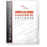 LaserLink XL W-2, 1099 and ACA Tax Software for 2016