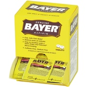 Bayer® Aspirin, 100 Packets, 220 Mg (90010)