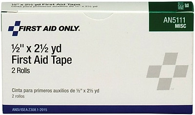 First Aid Only First Aid Tape 1 2 2 box