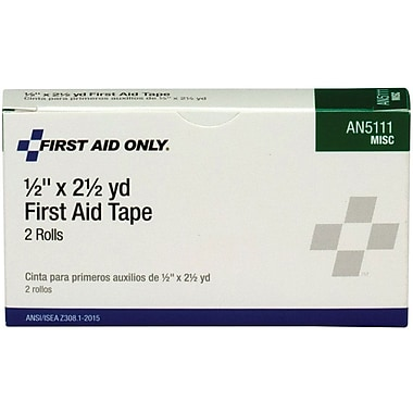 First Aid Only™ First Aid Tape, 1/2