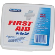 First Aid Only® Personal First Aid Kit, 1 Person, 13 Piece, Plastic Case (90101)