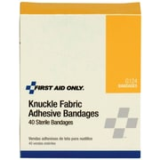 First Aid Only® Knuckle Bandage, Fabric, 40 Per Box (G124)