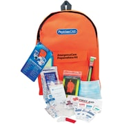 First Aid Only® PhysiciansCare® Emergency Preparedness 1 Day Backpack, 43 Pieces, Orange (90123)