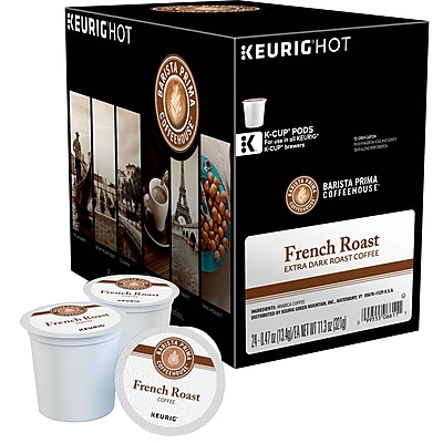 Keurig K-Cup Barista Prima French Roast Coffee, 24/Pack 756085