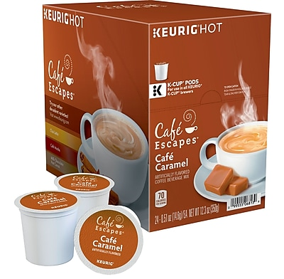 Keurig K-Cup Cafe Escapes Cafe Caramel, 24/Pack GMT6813