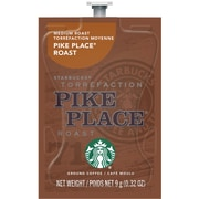 Starbucks® Pike Place® Roast Ground Coffee, .32 Oz., 80/Box