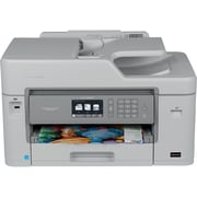Brother MFC-J5830DW XL Wireless Color Inkjet All-In-One Printer with up to 2 Years of Ink (16 INKvestment cartridges included)