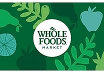 Whole Foods Market Gift Card $100 (Email Delivery)