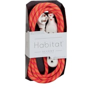 360 Electrical HabitatTM Braided Extension Cord (Accent)(8' - Sunset Blaze)