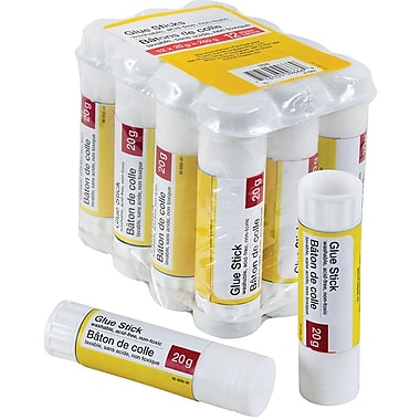 Glue Stick, 20 g, 12/Pack