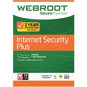 Webroot Internet Security Plus 3 Device 2 Year for Windows/Mac (1-3 Users) [Download]