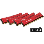 Kingston HyperX SAVAGE 32GB Kit (4x8GB) DDR3 DIMM 1600MHz CL9 240-Pin Non-ECC Desktop Memory - HX316C9SRK4/32
