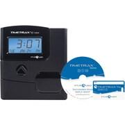 Pyramid TimeTrax EZ Proximity Time Clock System 500 Employees Black (PPDLAUBKN)