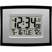 La Crosse Technology WT-8002U-INT Digital Clock with Indoor Temperature