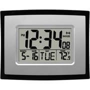 La Crosse Technology WT-8002U-INT Digital Clock with Indoor Temperature