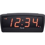 Equity by La Crosse 30902 12 V LED travel alarm clock