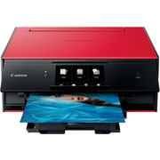 Canon PIXMA TS9020 Wireless Inkjet All-In-One Printer, Red