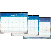 2017-2018 Blue Sky 22x17 Desk Pad Calendar, Endless Summer (102106)