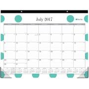 2017-2018 Blue Sky 22x17 Desk Pad Calendar, Penelope (100115)