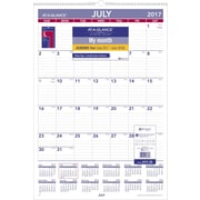 "2017-2018 AT-A-GLANCE® 15 1/2""x22 3/4"" Academic Monthly Wall Calendar,12 Months (AY3-28-18)"
