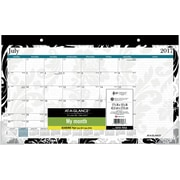 "2017-2018 AT-A-GLANCE® 17 3/4"" x 10 7/8"" Madrid Compact Academic Monthly Desk Pad, 12 Months (SK93-705A-A7)"