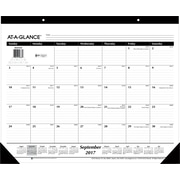"2017-2018 AT-A-GLANCE® 22"" x 17"" Academic Monthly Desk Pad, 16 Months, September Start (SK2416-00-18)"
