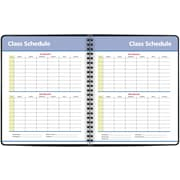 """2017-2018 AT-A-GLANCE®8""""x9 7/8""""QuickNotes®Academic Weekly/Monthly Planner, 13 Months, Black(76-11-05-18)"""