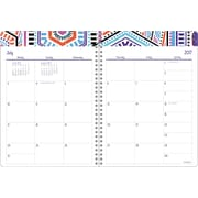 "2017-2018 Staples® 8"" x 11"" Large Academic Weekly/Monthly Planner,14 Months (27112-17)"